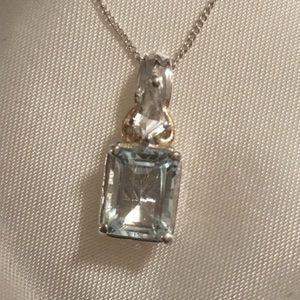 Jewelry - 💎Genuine Aquamarine Pendant💎